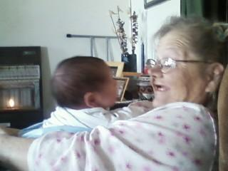 Rhys and his Nana